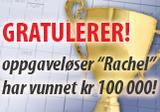 Vinner 100 000 kroner